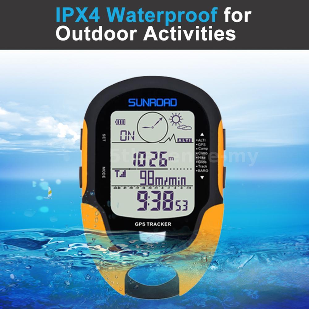 Multifonction LCD Numérique GPS Altimètre Baromètre Compas Portable Camping G9C6